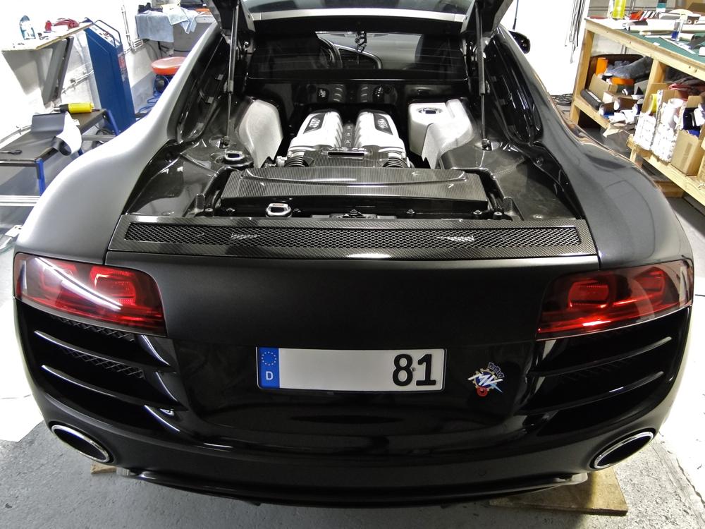 Fostla De Audi R8 V10 Schwarz Matt